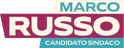 Logo Marco Russo Candidato Sindaco