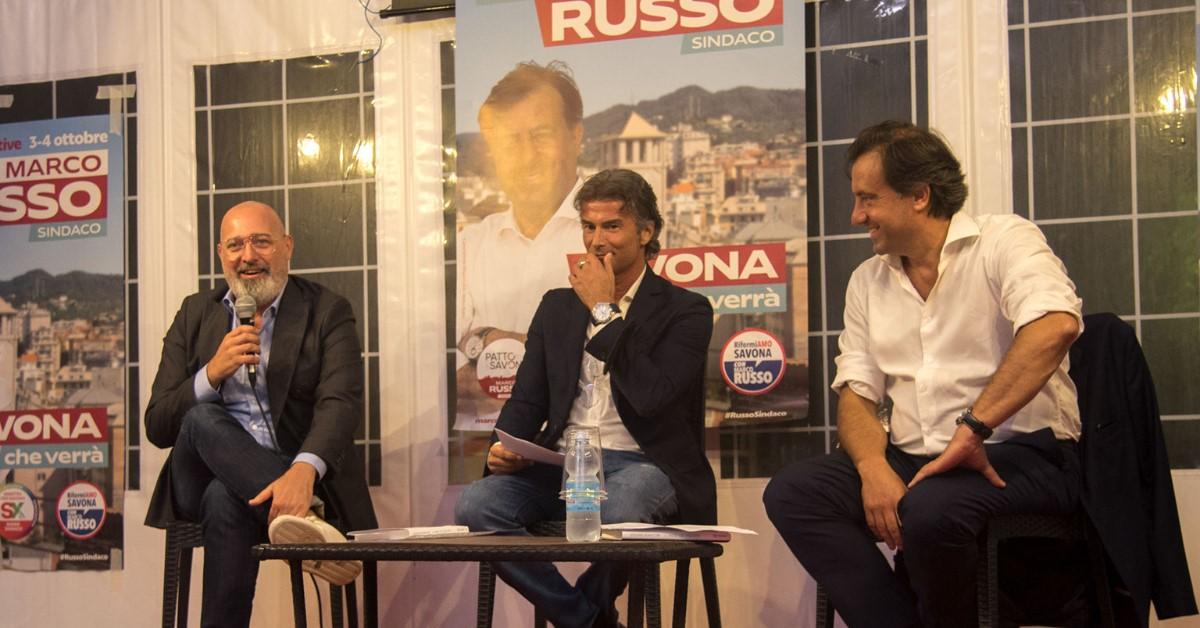 Russo e Bonaccini, le buone politiche si incontrano a Savona: sviluppo sostenibile ed elevata qualità della vita