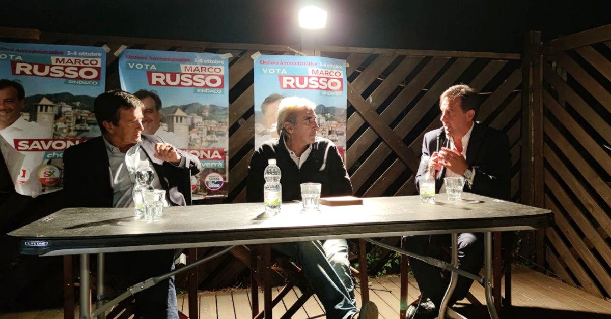 Commercio, Capitale della Cultura, Cittadinanza Attiva: per Marco Russo e Giorgio Gori la ripresa parte da qui.